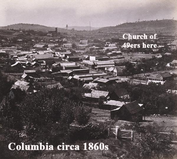 Columbia circa 1860s